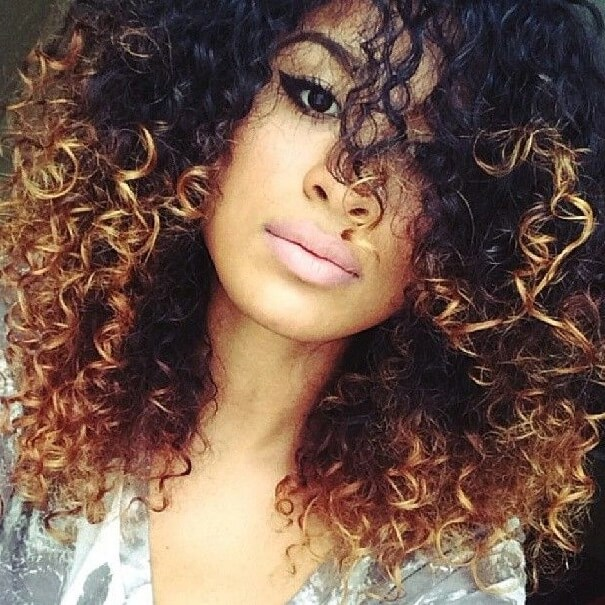 Hair Color Concepts For Curly Hair As The Fantastic Curly